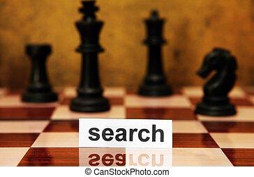 捜索しなさい, 概念