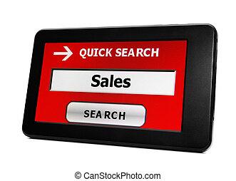 捜索しなさい, 販売