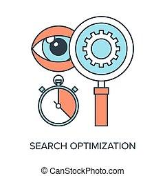 捜索しなさい, optimization