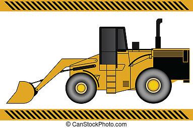 掘削機, 積込み機