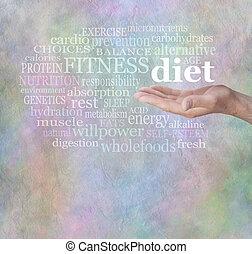 採取, a, 健康的飲食