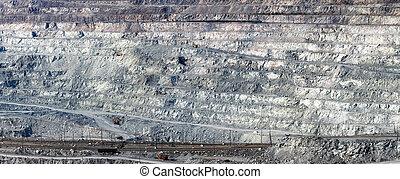 採石場, アスベスト