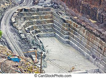 採石場, 石