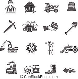 採礦, 圖象, 集合