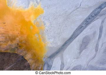 採礦, 空中, 自然, 雄峰, residuals, 污染, 看法