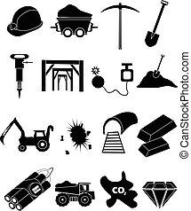 採礦, 集合, 圖象