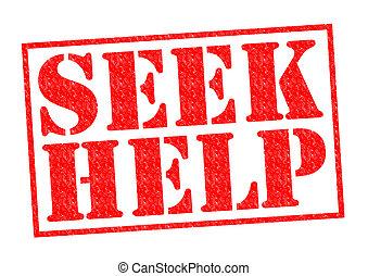 探しなさい, 助け