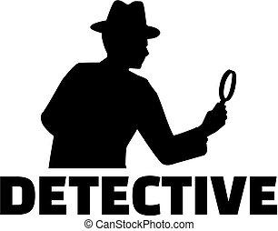 探偵, 仕事, タイトル