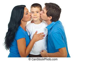 接吻, 親, ∥(彼・それ)ら∥, 息子