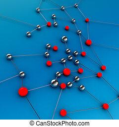 接続, ネットワーク