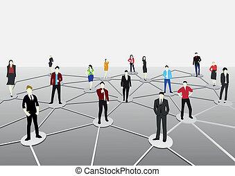 接続, ビジネス
