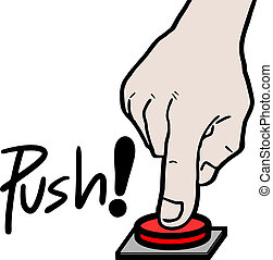 推, 按鈕