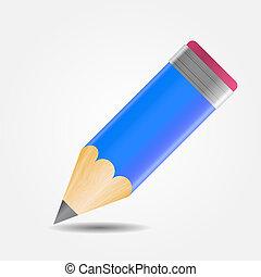 描述, 作品, 矢量, 工具, 图, 图标