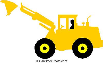 描述, excavator