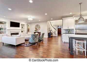 提供, 客廳, 新的家