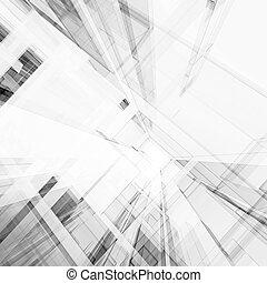 提供, 摘要, 建筑学, 3d