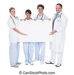 提出, 組, 板, 空, 醫生