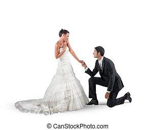 提案, 結婚