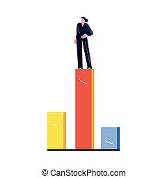 提示, indocator, 成功した, 女性ビジネス, 最も高く, 開発, 地位