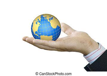 握住, 全球, 手