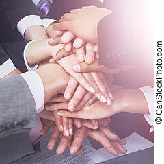 握手, チームワーク