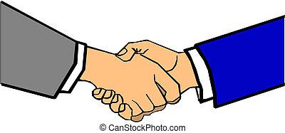 握手, ベクトル, シンボル