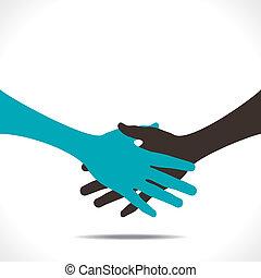 握手, 協力, ∥あるいは∥
