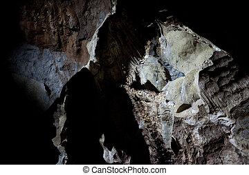 揺りかご, 人類, 洞穴