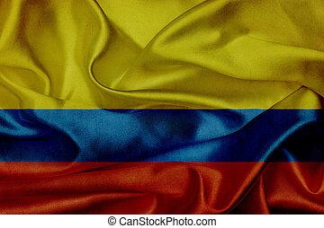 揺れている旗, グランジ, コロンビア