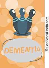 損失, 写真, 認識, テキスト, 提示, 病気, 印, 脳, 記憶, 概念, 作用, 欠損, dementia.