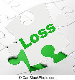 損失, 困惑, concept:, 金融, 背景