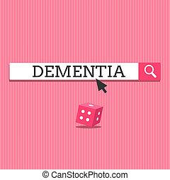 損失, 認識, ビジネス, 写真, 提示, 病気, 執筆, メモ, 脳, 記憶, showcasing, 作用, 欠損, dementia.