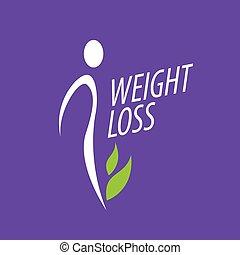 損失, 重量, ロゴ