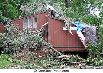 損害, 嵐