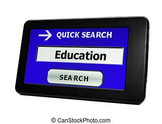 搜尋, 為, 教育