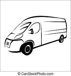 搬運車, 符號