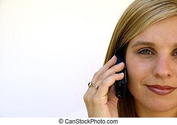 携帯電話, 女の子