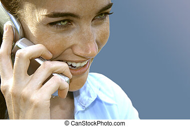 携帯電話, 女, 7