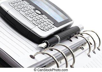 携帯電話, 組織者