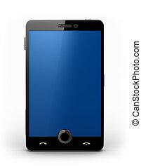 携帯電話, touchscreen