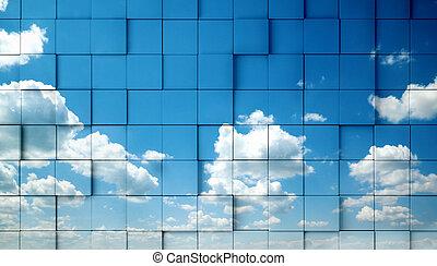 摘要, 天空, 概念