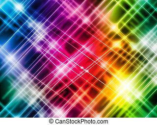 摘要, 富有色彩的光, 背景