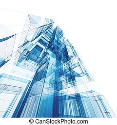 摘要, 建築學
