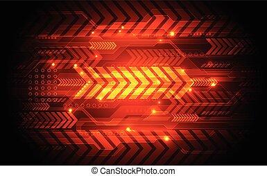 摘要, 技術, 速度, concept., 矢量, 插圖, 背景