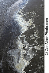 摘要, 海, 污染