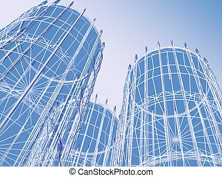 摘要, 現代建筑學