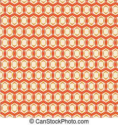 摘要, 矢量, 橙色 背景