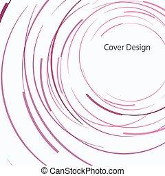 摘要, 矢量, 設計, 環繞