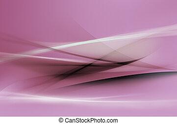 摘要, 紫色, 波浪, 背景