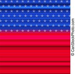 摘要, 美國旗, 7月4 日, 愉快